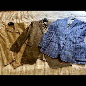 Designer Men's Sport Coat (set of 3)